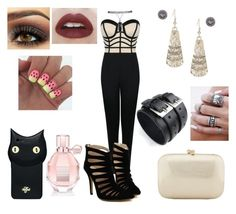 """New Year Outfit"" by lucieprettyliars ❤ liked on Polyvore featuring Wet Seal, Bling Jewelry, Serpui, Viktor & Rolf, Valfré, Happiness and party_all_night"