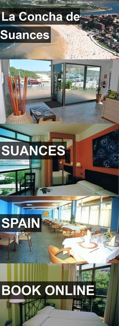 Hotel La Concha de Suances in Suances, Spain. For more information, photos, reviews and best prices please follow the link. #Spain #Suances #travel #vacation #hotel