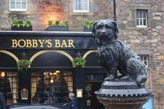 Bobby's Bar. Edimburgo.