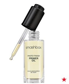 If your skin is flaky, scaly or rough, you have a dry skin type. Get a much needed daily moisture boost from Smashbox photo finish primer oil. Apply before makeup for a healthy, dewy look. You can even use it on other dry skin areas like elbows and cuticles.
