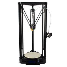 Neben den typischen FDM Druckern die mit über 3 Stangensysteme die X,Y & Z Achse beim Drucken steuern, gibt es die3-Bein Systeme. Diese Haben den Vorteil, einfacher in die Höhe zu Drucken und sind deshalb in der Regel mit einem hohen Bauraum versehen. Das mag im ersten Moment unvorteilhaft erscheint, da man denktdass die Drucke…