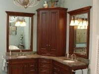 Double corner vanity   found on neals comDouble Sink Corner Bathroom Vanities for a large bathroom  . Double Sink Corner Vanity. Home Design Ideas