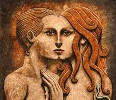 The Archetypes of the Anima and Animus - Appliedjung Adam Et Eve, Dead Can Dance, Twin Flame Relationship, Twin Flame Love, Twin Flames, Life Partners, Land Art, Nature, Persona