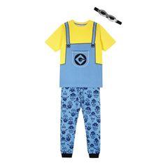 Despicable Me Boy's yellow 'Minion' pyjama set- at Debenhams.com