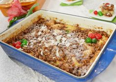 David Venable's Christmas Morning French Toast Casserole #qvc
