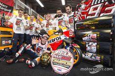 6. Race winner Marc Marquez, Repsol Honda Team celebrates with his team