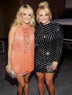 Miranda Lambert and Carrie Underwood!! Saw both in concert! LOVE THEM!!! ♥