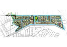 West 8 Urban Design & Landscape Architecture / projects / Vathorst - De Laak, the Canal City