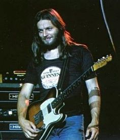 David Gilmour | Pink Floyd | Wish You Were Here tour, 1975 - I was lucky enough to be at the Boston show and it was quite a show!