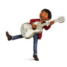 Miguel Rivera Singing And Playing With Hectors Guitar From Coco