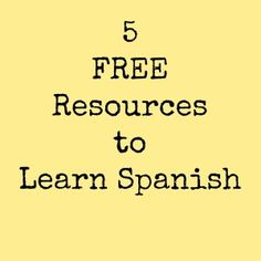 5 Free Resources to Learn Spanish for Kids and Adults