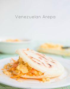 Arepas Venezolanas - corn flatbreads from Venezuela