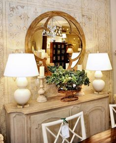 Horse Country Chic: More From The Kellogg Collection...Sideboard looks like Dovetail furniture