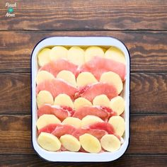 Slimming Steps - How to make Syn Free Bacon, Onion and Potato Bake Slimming World Dinners, Slimming World Recipes Syn Free, Slimming Eats, Slimming Word, Aldi Slimming World Syns, Aldi Recipes, Fodmap Recipes, Healthy Recipes, Potato Recipes