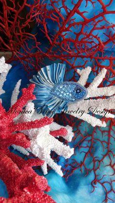 Lo Scrigno dei Gioielli: Betta Splendens...pesce combattente 2