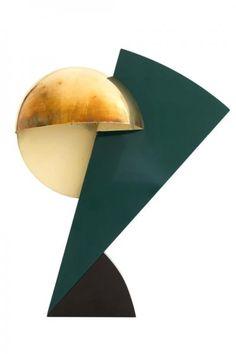 Serge MANZON (1930-1998) pour Pierre CARDIN. - Lampe Eclair. - Réflecteur