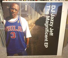 "#DJJazzyJeff The Magnificent EP #RapsterRecords 12"" vinyl #ebay #uniqbeats #jazzyjeff"