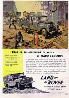 land rover antique