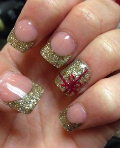 #christmas #nails