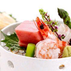 Nikko yuba and seasonal seafood with local vegetables