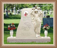 Angel In Mourning Cemetery Memorials Headstones