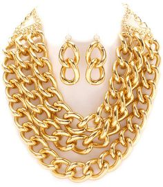 Gold Curve Chain