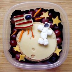Boy's Over the Moon Astronaut Bento Lunchbox Ideas