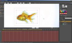 Moho Pro 12  - Mesh over path over mesh over image... tutorial
