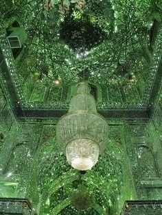 A l'intérieur des éblouissantes mosquées de Chiraz, en Iran | Slate.fr