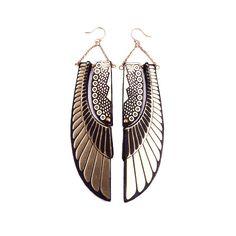 Deco Wing Earrings