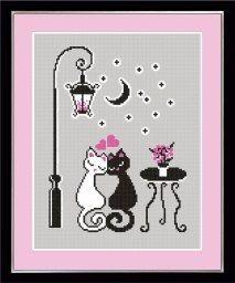Cross Stitch Owl, Cross Stitch Borders, Cross Stitch Charts, Cross Stitching, Cross Stitch Embroidery, Cross Stitch Patterns, Cat Decor, Fuse Beads, Food Themes