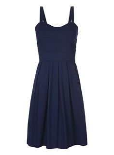 Bridesmaid dress with thicker straps ad higher neckline...but i like the color.
