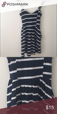 f517908e9edfda Selling this Fun and Nautical Navy Tank Dress on Poshmark! My username is   e rielly