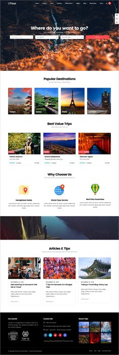 Grand Tour is a modern design responsive #WordPress theme for #Tour & #Travel Agency websites download now➩ https://themeforest.net/item/grand-tour-tour-travel-wordpress/19264426?ref=Datasata
