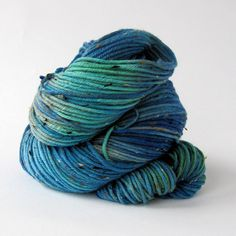 HandPainted DK Donegal 85/15 Superwash by MammothWoolworks on Etsy
