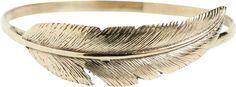 Sunahara Feather Wrap Bangle on shopstyle.com