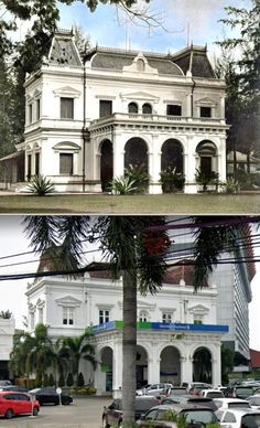 Residents-Woning. Medan, ca 1915, ,.,   Standard Chartered Bank di Hotel Danau Toba, Medan, 2019