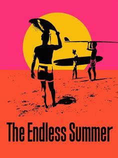 <em>The ENDLESS SUMMER,</em> by John Van Hamersveld, 1964