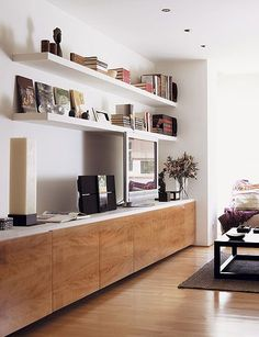 Living Room Shelving Unit Ideas On Foter Styled Living Room Shelves With Gold . - Living Room Shelving Unit Ideas On Foter Styled Living Room Shelves With Gold Accents Transitional - Living Room Shelves, Living Room Storage, Living Room Tv, Living Room Interior, Home And Living, Modern Living, Minimalist Living, Simple Living, Built In Cupboards Living Room