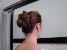 Hold your updo in place with Updo Secret.  www.updosecret.com