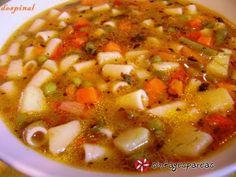 Σούπα Μινεστρόνε #sintagespareas #soupaminestrone