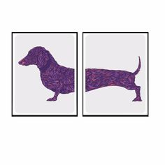 3dRose Art by Mandy Joy - T-Shirts Illustrations Watercolor A Funny Cartoon of Two Fancy Puppies with Typography