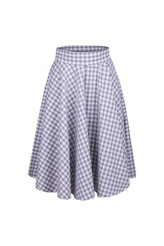 Perfect gift for mum. Midi Skirts – super skirt check by babs – a unique product by B_A_B_S via en.DaWanda.com