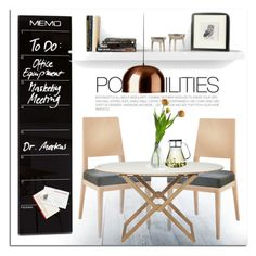 """Dining Room"" by lovethesign-eu ❤ liked on Polyvore featuring interior, interiors, interior design, home, home decor, interior decorating, Metalmobil, BoConcept, Serax and TemaHome"