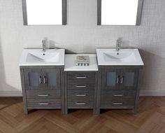 66 Inch Bathroom Vanity Cabinets