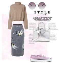 Polyvore, fashion, woman fashion, style, original set, Rejina Pyo, Erdem, Vans, Yves Saint Laurent, OXYDO and clothing