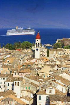 Old town of Corfu
