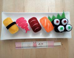 felt play food sushi set