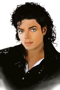 Michael Jackson - Bad by =Veronnikka on deviantART