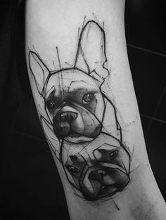 Kamil Mokot dog tattoo